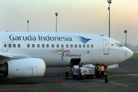 Garuda Pastikan 10 Armada B777-300 ER Laik Terbang