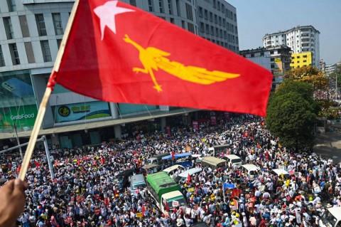 Singapura Kecam Keras Kematian Tiga Demonstran Myanmar