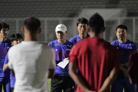 Shin Tae-yong Sebut Beberapa Pemain Timnas Mengalami Cedera Saat TC