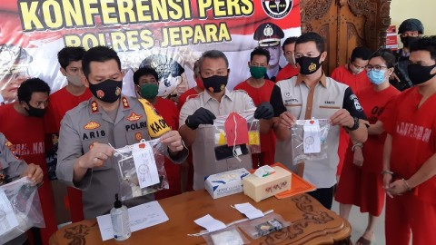 Jepara Zona Merah Peredaran Narkotika di Jateng
