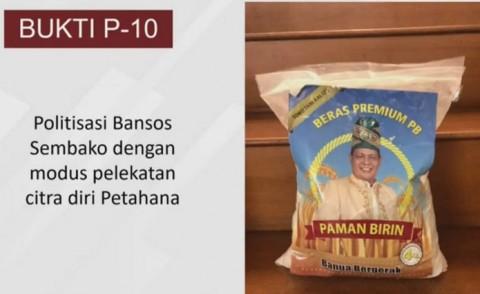 Gubernur Petahana Kalsel Sahbirin Diduga Lakukan Politisasi Bansos