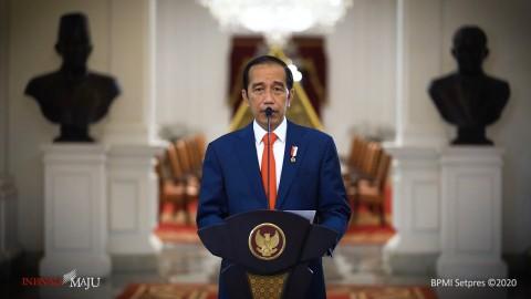 Jokowi Resmikan Bendungan Napun Gate di Kabupaten Sikka