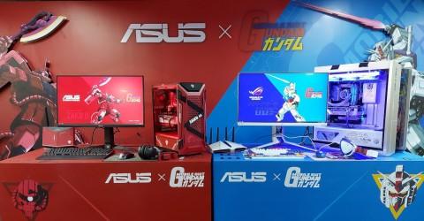 Asus Bawa Produk Baru Bertema Gundam ke Indonesia