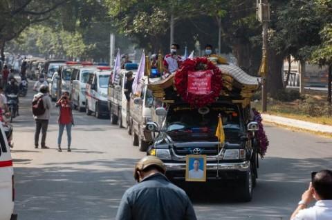 G7 Kutuk Kekerasan Militer yang Tewaskan Pedemo Myanmar