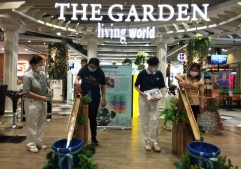 Peringati Satu Dekade, Living World Alam Sutera Gelar Kegiatan Sosial