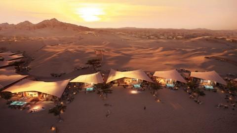 Southern Dunes, Hotel di Tengah Gurun Arab Saudi