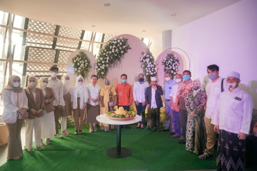 Suasana peresmian Wedding Gallery the Haifa Wedding X Royal Safari Garden. (Foto: Istimewa)