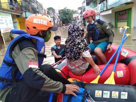 Bank Syariah Indonesia Gelontorkan Rp100 Juta ke Korban Banjir