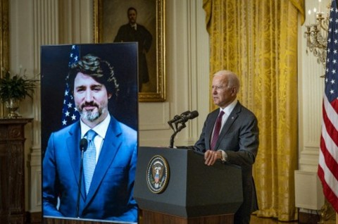 Joe Biden Sebut Kanada Sahabat Terdekat AS