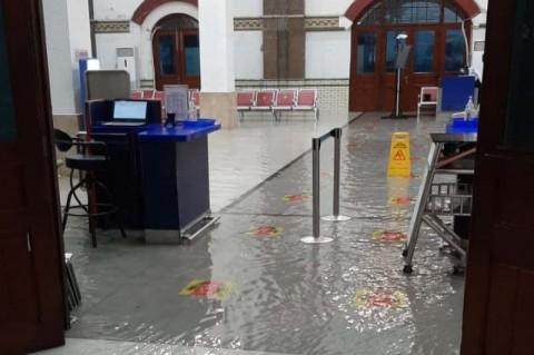 Stasiun Tawang Semarang Kebanjiran Lagi