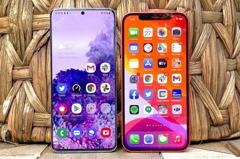 Apple Kalahkan Penjualan Smartphone Samsung