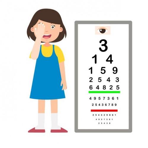 Lantaran myopia biasanya terjadi sejak kecil, maka sasaran terapi myopia harus diberikan sejak sedini mungkin. (Foto: Ilustrasi-Freepik)