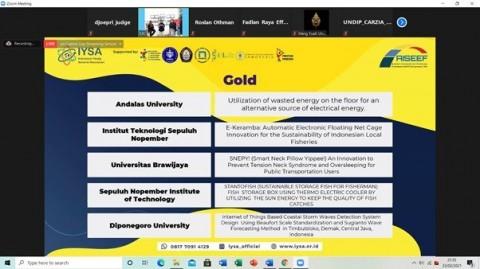 Keren, ITS Borong Medali di AISEEF 2021