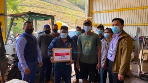 Gerak Cepat KJRI Hong Kong Kirim Makanan ke WNI di Kapal Rusak