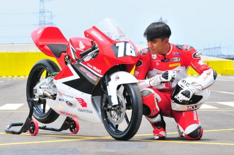 Honda Boyong 12 Pembalap Nasional ke Balap Dunia