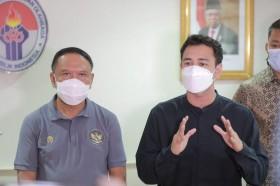 Menpora Mau Kampanye, Main Bola di Laga Timnas Indonesia vs Selebritis FC