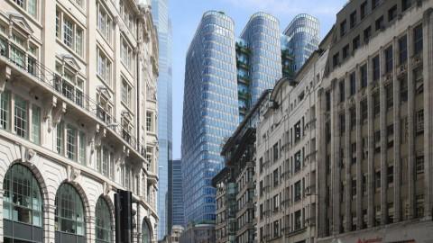 3 Gedung Jangkung Hiasi Langit London
