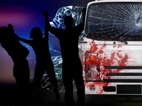 Bonceng 4, Dua Anak Tewas Terlindas Truk di Pondok Cabe