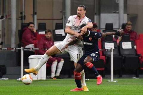 Liga Europa: Kembali Imbang dengan Red Star, Milan Tetap Lolos ke 16 Besar