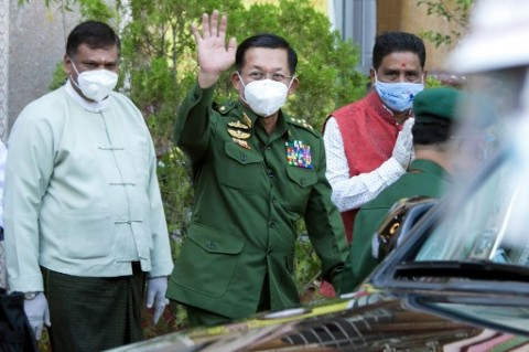 Inggris Tambah Sanksi ke Myanmar, Termasuk Jenderal Min Aung Hlaing