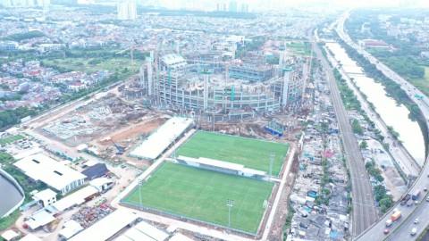 Pembangunan Jakarta International Stadium Terus Menunjukkan Progres Positif
