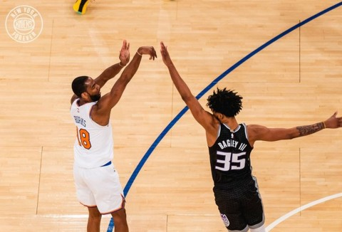 NBA: New York Knicks Bungkam Kings