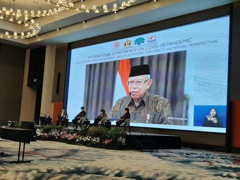 Wapres Paparkan Upaya Penanganan Pandemi Pada Penutupan Konferensi Internasional