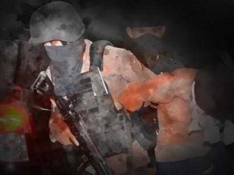 Populer Daerah, Penangkapan Teroris di Jatim Hingga Jenazah Lewati Banjir Pakai Perahu