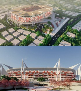Gubernur Sulsel Diciduk KPK, Pembangunan Stadion Mattoanging Apa Kabar?