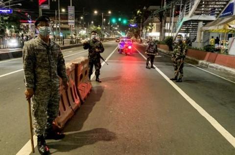 Filipina Kembali Perpanjang Lockdown Parsial di Manila
