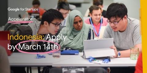 Pertama Kali, Google Buka Program Akselerator Startup Indonesia