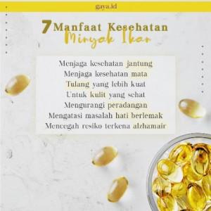 Manfaat Kesehatan Minyak Ikan