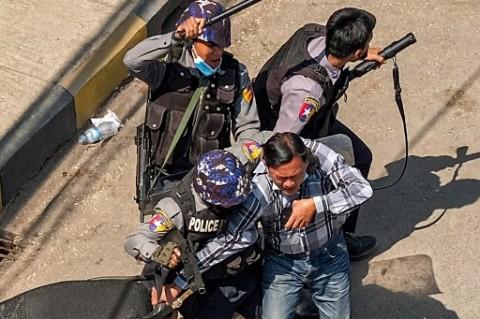 Kantor HAM PBB: 18 Pedemo Myanmar Tewas di Tangan Polisi