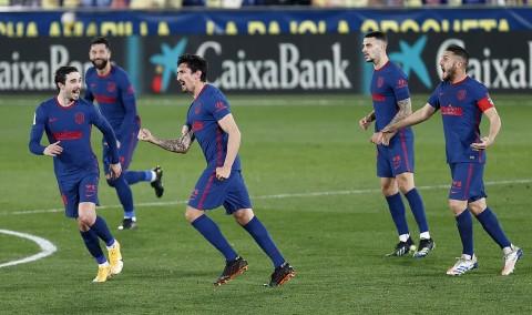 Villarreal vs Atletico: Gol Bunuh Diri Warnai Kemenangan Los Rojiblancos