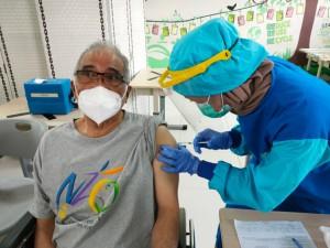 200 Lansia di Kawasan Menteng Dapat Vaksinasi Covid-19