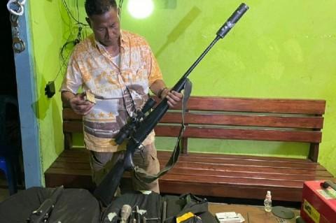 5 Pucuk Senjata Api Rakitan Disita Polisi Merauke dari 3 Tersangka