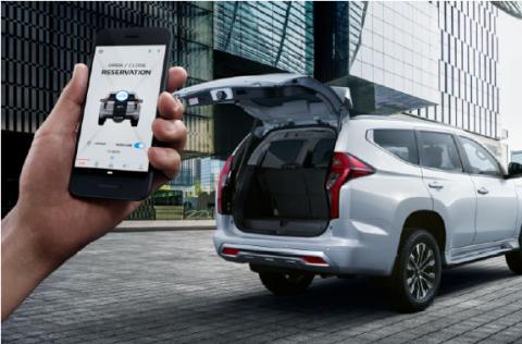 Membuka Bagasi Mobil Ini Bisa Melalui Smartphone