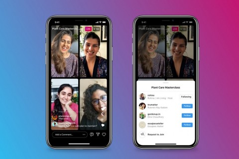 Instagram Buka Live Rooms, Mirip Clubhouse