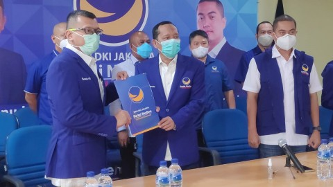 Lantik Ketua DPC Jaktim, NasDem DKI Targetkan Posisi Tiga Besar di DPRD
