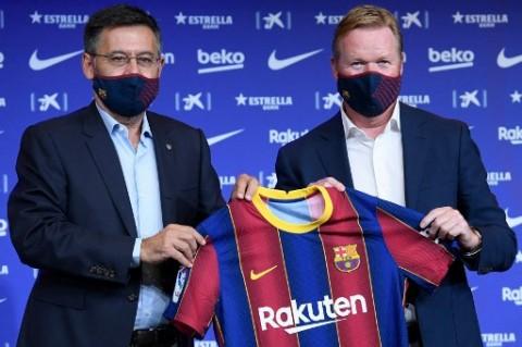 Koeman Terpukul dengan Penangkapan Mantan Presiden Barcelona