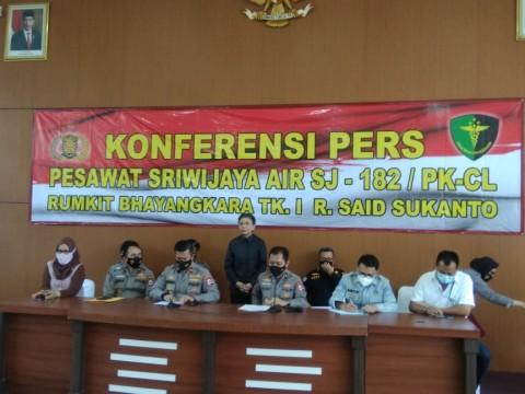 Polri Sebut Keluarga 3 Korban SJ-182 Tak Teridentifikasi Mafhum
