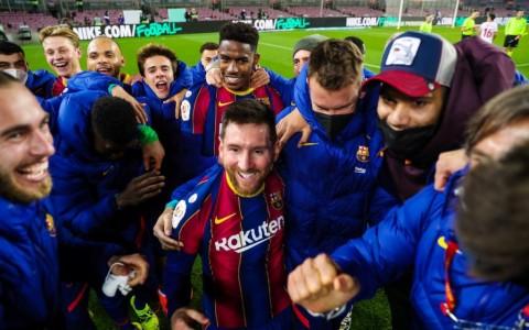 Copa del Rey: Barcelona Singkirkan 9 Pemain Sevilla