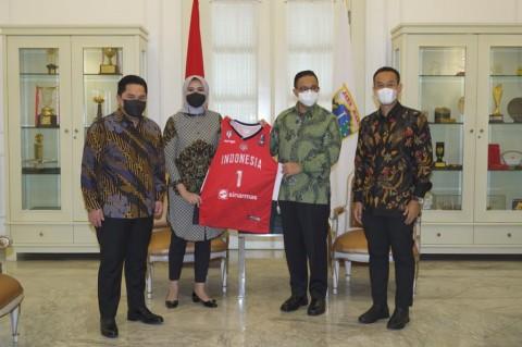 Anies Dukung Kompetisi Basket Internasional di Jakarta