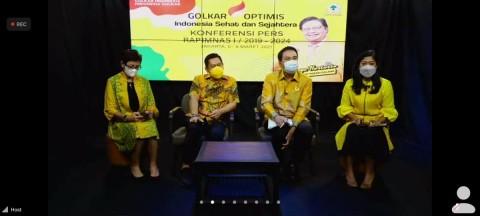 Golkar Bakal Bahas Strategi Pemenangan Pemilu dan Nasib Pilkada di Rapimnas