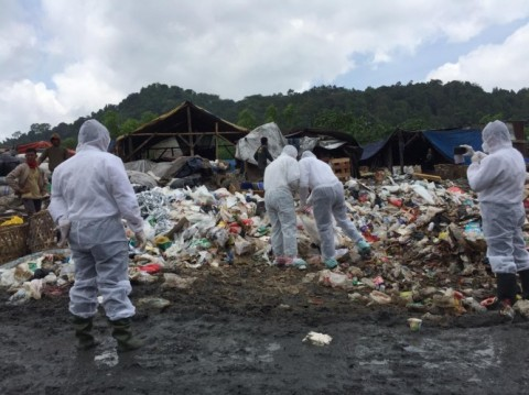 Polda Lampung Panggil Pihak Ketiga Usut Limbah Medis TPA Bakung