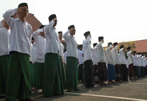 104 Santri Dua Pesantren di Indramayu Terpapar Covid-19