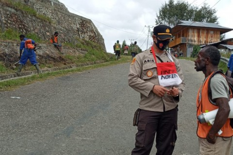 Polisi Pastikan Kondisi di Intan Jaya Kondusif