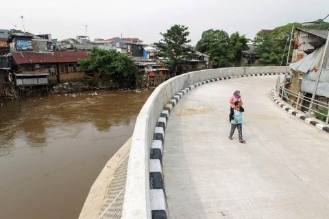 DKI Kebut Pembebasan Lahan 7,6 Km Bantaran Sungai Ciliwung