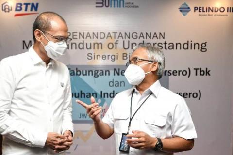 BTN Siap Kawal Pembiayaan Ekspansi Bisnis Pelindo III
