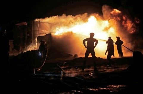 Misil Hantam Kilang Minyak Suriah, 4 Tewas 24 Terluka